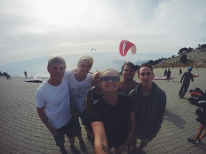 gruppe- paragliding
