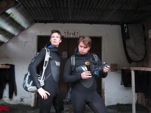 Carsten og Halvard